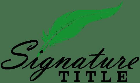 Signature Title